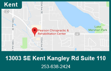 Map of Pearson Chiropractic Kent