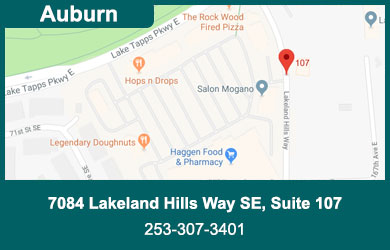 Map of Pearson Chiropractic Federal Way
